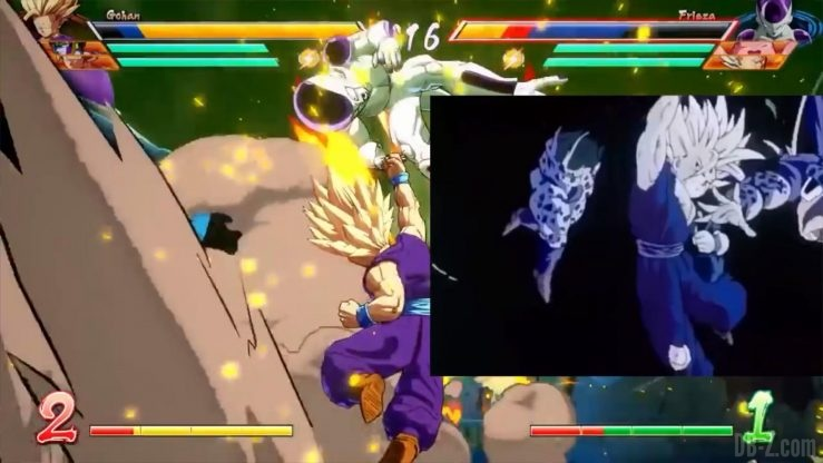 Dragon Ball Fighter Z Gohan references _0019_Calque 16