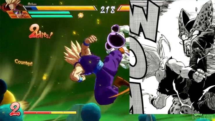Dragon Ball Fighter Z Gohan references _0021_Calque 14