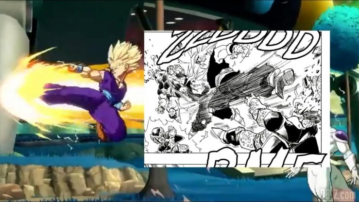 Dragon Ball Fighter Z Gohan references _0028_Calque 7