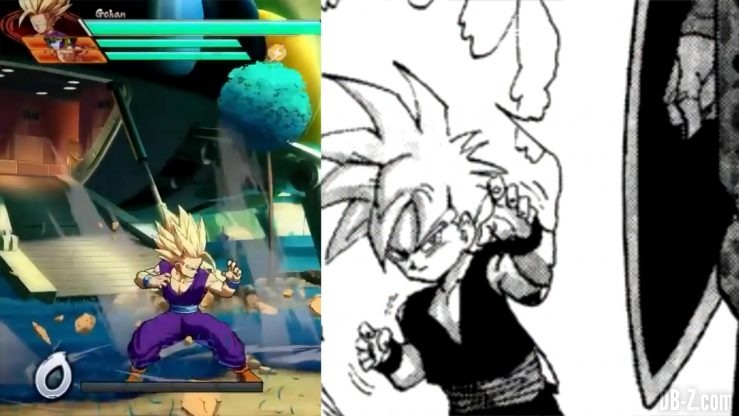 Dragon Ball Fighter Z Gohan references _0030_Calque 5