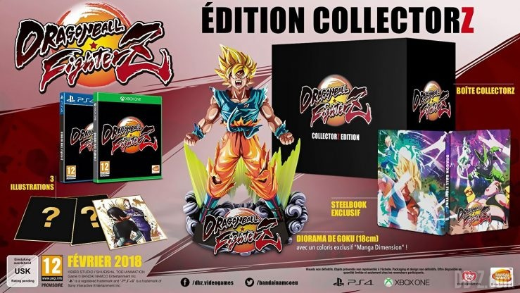 Dragon Ball FighterZ Collector (PS4 / Xbox One)