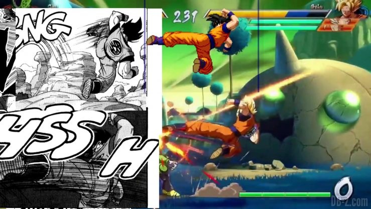 Dragon Ball FighterZ References Manga Anime 17