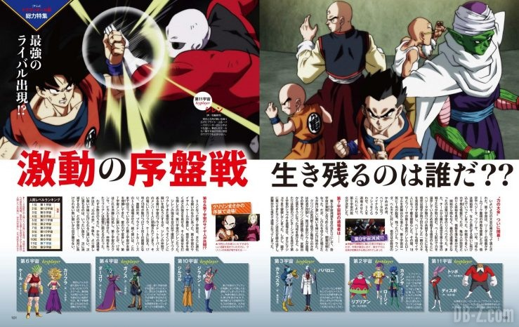 Dragon Ball Super dans Animedia (Page 4, Septembre 2017)
