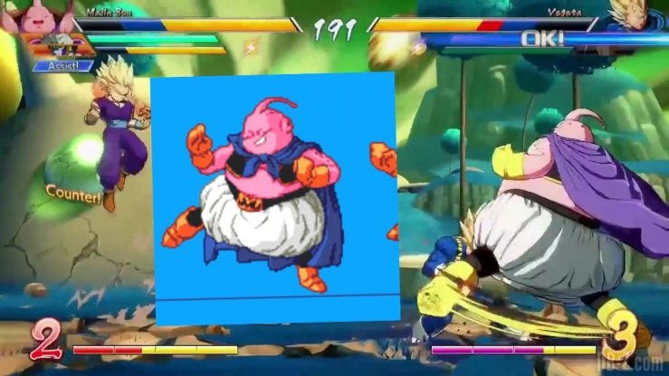 DragonBall FighterZ Majin Buu references[(003093)2017-08-30-15-36-53]