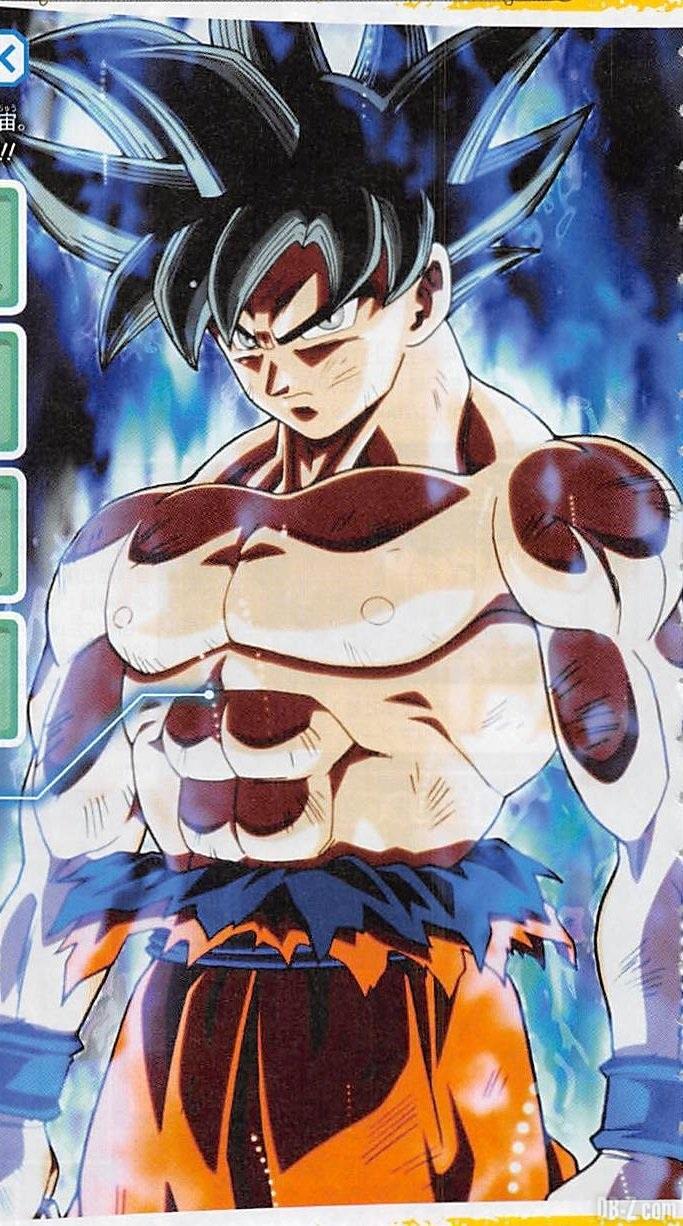 Goku God Yeux Argents
