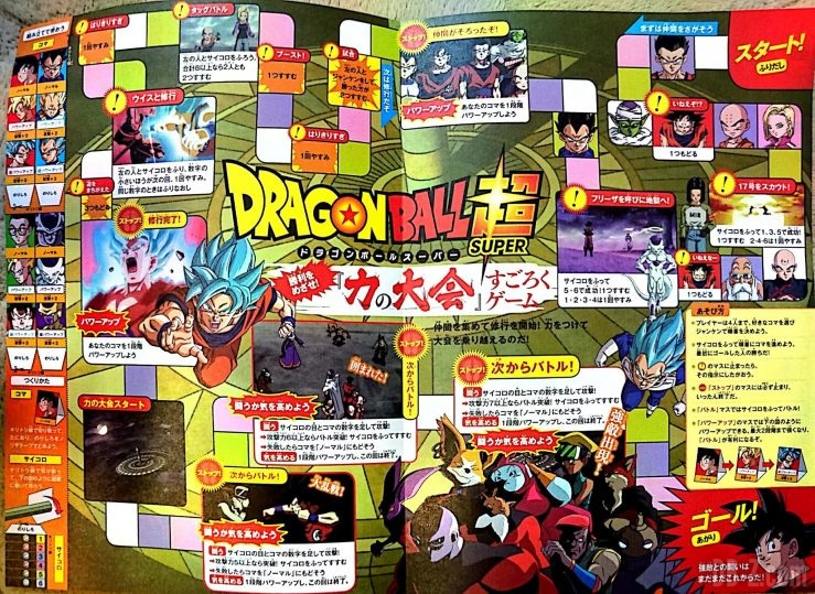 Jeux de Plateau Dragon Ball Super Board Game