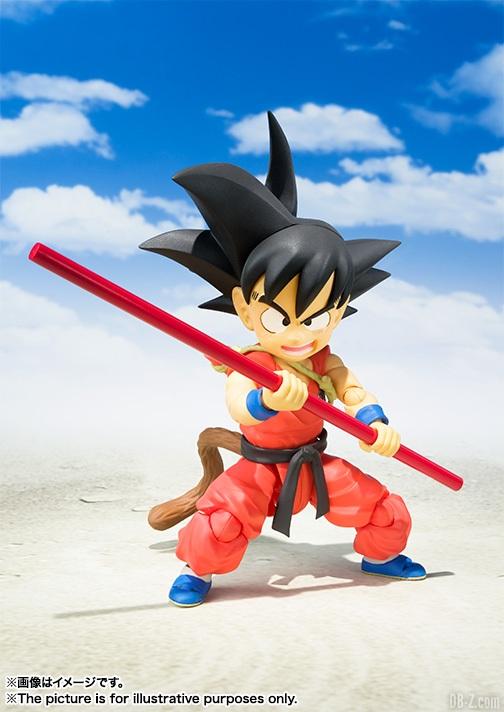 SHFiguarts Goku Enfant 1