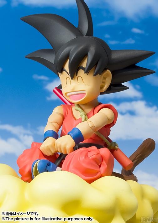 SHFiguarts Goku Enfant 2