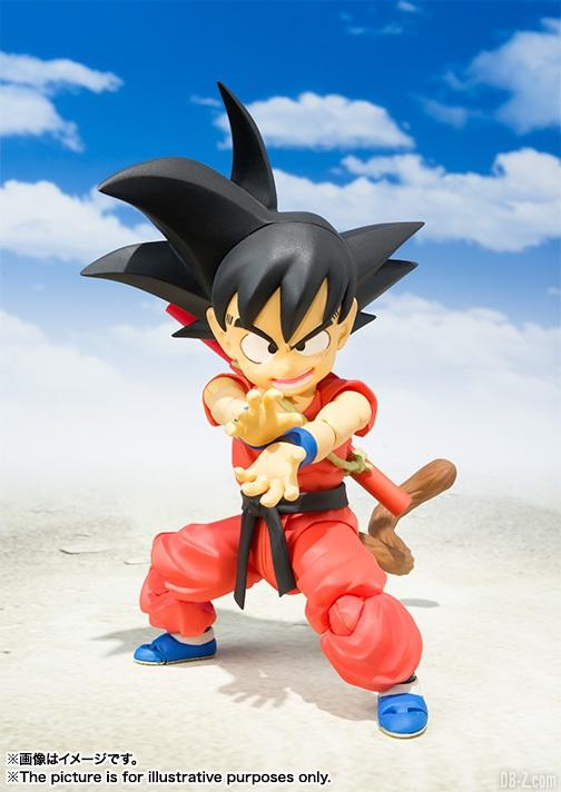 SHFiguarts Goku Enfant 4
