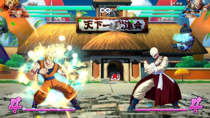 Dragon Ball FighterZ Tenshinhan Chaozu 7