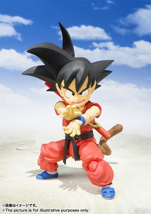 SHFiguarts Kid Goku Enfant SHF 3