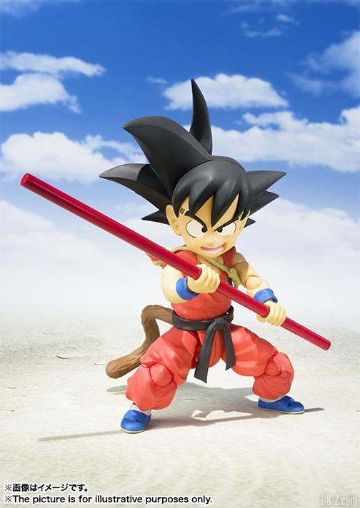 SHFiguarts Kid Goku Enfant SHF Baton