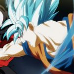 Super Saiyan Blue Goku vs Jiren DBS 109 110