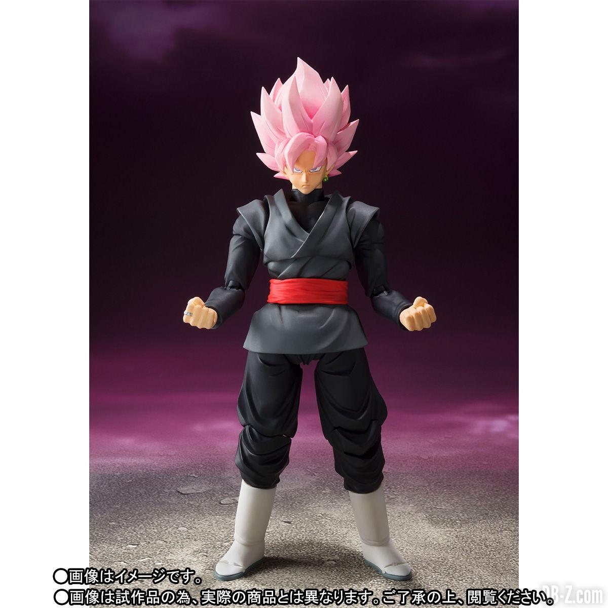 S.H.Figuarts Black Goku SSR