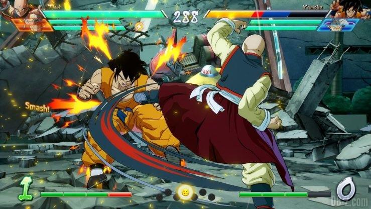 Dragon Ball FighterZ Collect 7 Dragon Balls Tenshinhan