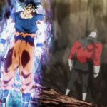 Dragon Ball Super Episode 109 110 268 Goku Ultra Instinct Yeux Argentes Jiren