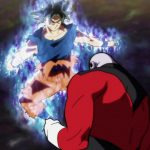 Dragon Ball Super Episode 109 110 284 Goku Ultra Instinct Yeux Argentes Jiren