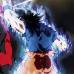 Dragon Ball Super Episode 109 110 294 Goku Ultra Instinct Yeux Argentes Jiren
