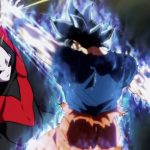 Dragon Ball Super Episode 109 110 301 Goku Ultra Instinct Yeux Argentes Jiren