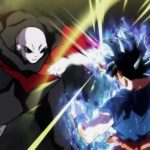 Dragon Ball Super Episode 109 110 302 Goku Ultra Instinct Yeux Argentes Jiren