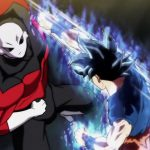 Dragon Ball Super Episode 109 110 303 Goku Ultra Instinct Yeux Argentes Jiren
