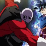 Dragon Ball Super Episode 109 110 305 Goku Ultra Instinct Yeux Argentes Jiren