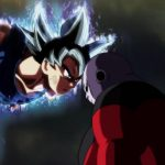 Dragon Ball Super Episode 109 110 331 Goku Ultra Instinct Yeux Argentes Jiren
