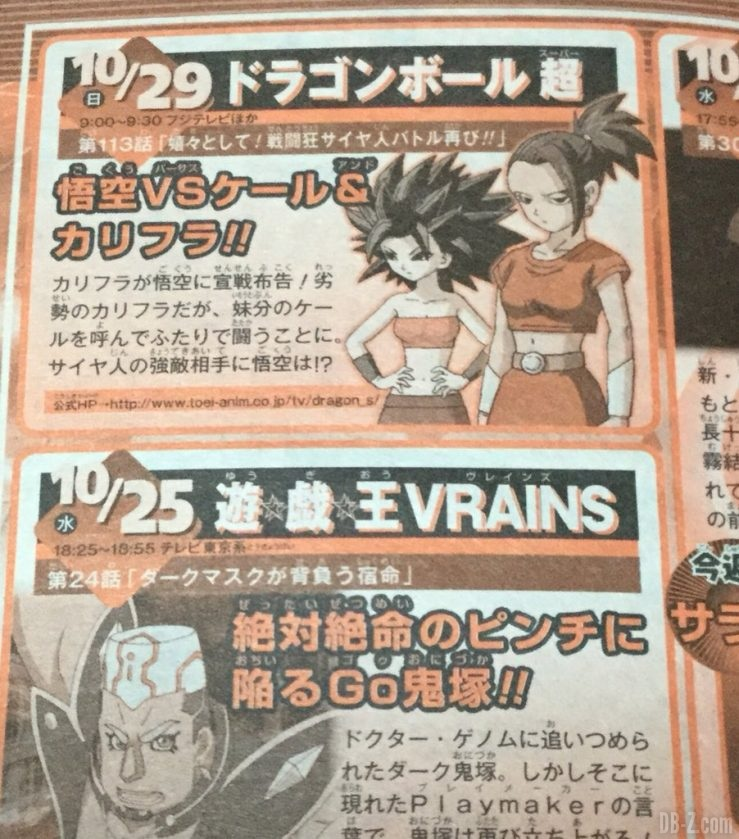 Dragon Ball Super Episode 113 Preview