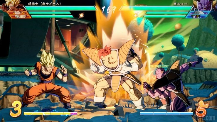 DragonBall Fighterz 1 Ginyu