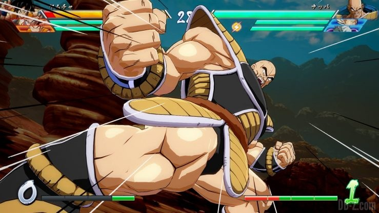 DragonBall Fighterz 14 Nappa