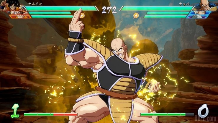 DragonBall Fighterz 8 Nappa