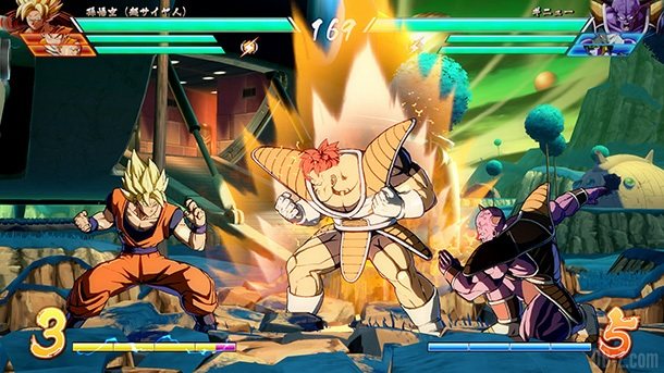 Ginyu Reecome DB FighterZ