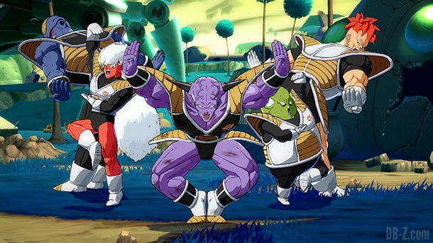 Ginyu Tokusentai DB FighterZ