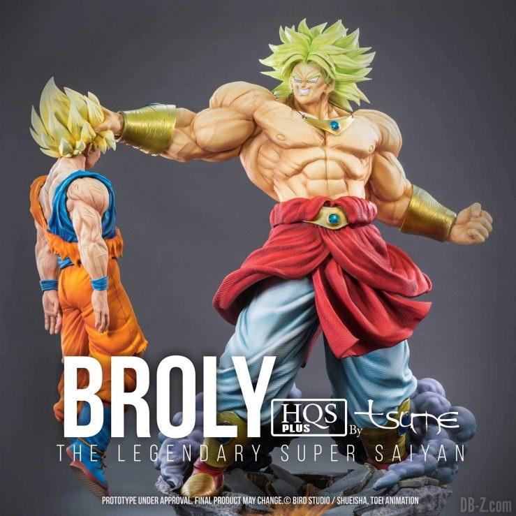 HQS+ Broly & Goku by Tsume