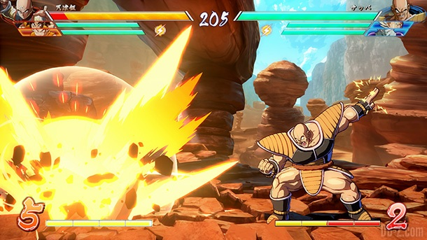 Nappa DB FighterZ 2