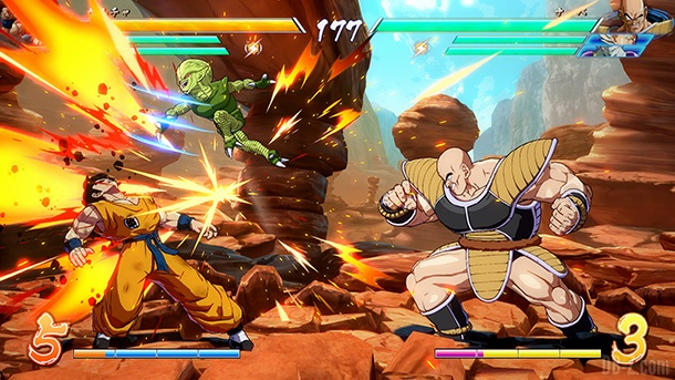 Nappa DB FighterZ 4