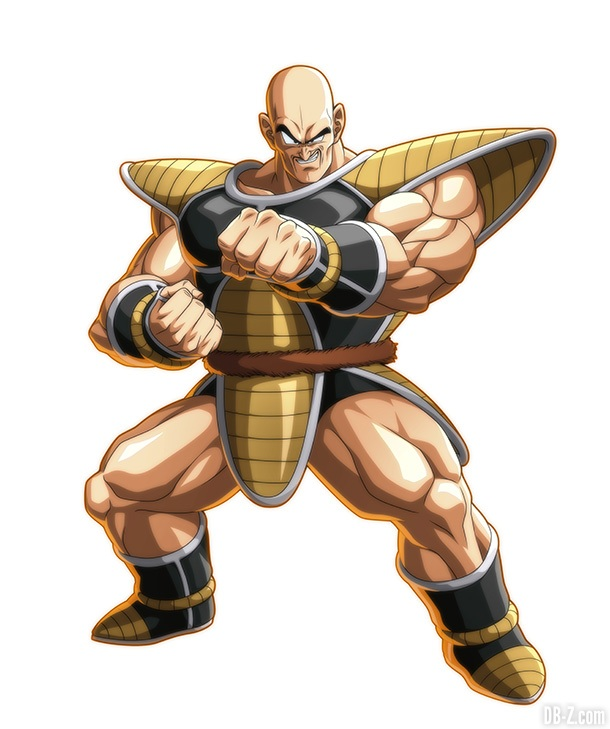 Nappa DB FighterZ