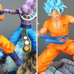 Statue Goku vs Beerus Xceed Resine
