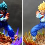 Statue Vegetto Blue Xceed Resine