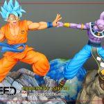 statue goku vs beerus xceed 11