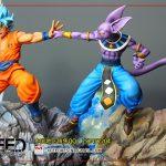 statue goku vs beerus xceed 9