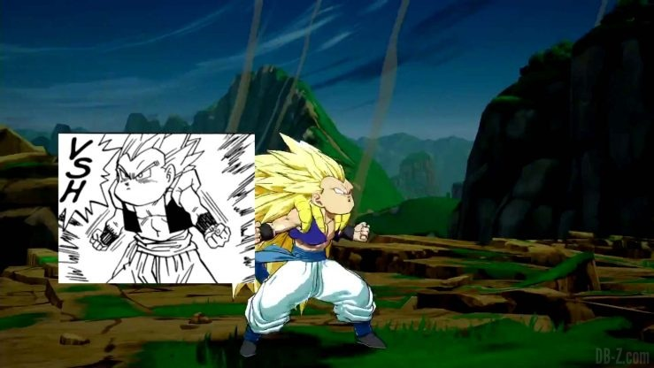 Comparaison Gotenks FighterZ Manga Anime 021