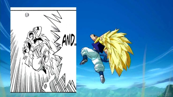 Comparaison Gotenks FighterZ Manga Anime 039