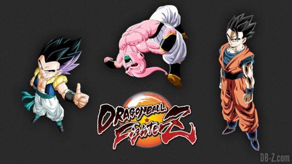 Dragon Ball Fighterz Gohan Gotenks Buu