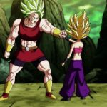 Dragon Ball Super Episode 114 0034 Kale Caulifla