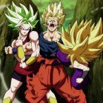 Dragon Ball Super Episode 114 0092 Goku Super Saiyan Kale Caulifla