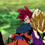 Dragon Ball Super Episode 114 0114 Goku Super Saiyan God Caulifla