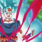 Dragon Ball Super Episode 115 00100 Goku Super Saiyan Blue Kaioken