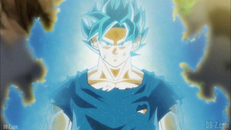 Dragon Ball Super Episode 115 Goku Super Saiyan Blue