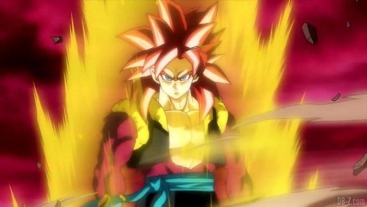 Gogeta Xeno Super Saiyan 4